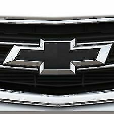 23287538 OEM GM Chrome & Black Bowtie Front & Rear Emblem Kit 2014 - 2018 Impala