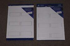Gartner Studios, Silver Border, Printable Place Cards 48 Count, Sealed