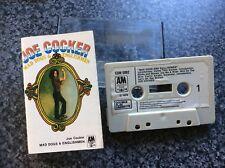 Joe Cocker Mad Dogs & Englishmen Audio Cassette Tape Blues Rock 1970 A&M Records