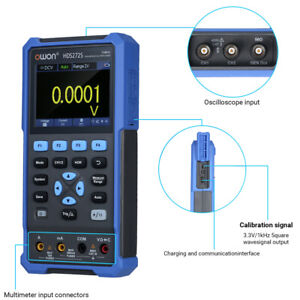 HDS272S 3-in-1 Handheld Digital Oscilloscope for Car Audio Automotive Electronic