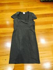 Spicy Sugar Size 6 Dress Grey Work Office Business Casual As New