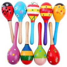 Enfants Bois Ball Mignon Sable Marteau Hochet Instrument De Musique Noël S[