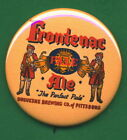 Frontenac Duquesne STYLE Brewing Pittsburgh PA. Beer & Ale Tray Ad RP *PIN*