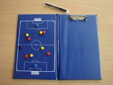 MAGNETIC football TACTICAL CLIPBOARD soccer coach COACHING AID football - NEW