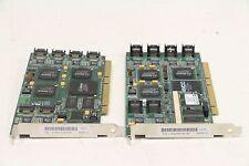Lot of 3Ware 700-0124-01 SATA Raid PCI-X Controller Card + 700-0160-01 8-Port