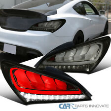 For 10-16 Genesis Coupe 2 Dr Smoke LED Sequential Signal Tail Lights Brake Lamps