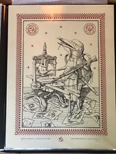"Ravi Zupa Bird-Pot ""Helping us Understand the News"" Signed #/75 Ltd Ed. Print AP"