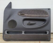 1998 1999 2000 2001 Dodge Ram Front Interior Door Panel Panels Dark Grey Quad Ps Fits 1500