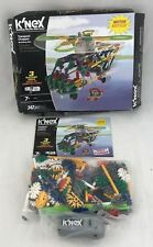 K'NEX TRANSPORT CHOPPER CONSTRUCTION SET WITH MOTOR