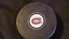 Montreal Canadiens Official NHL Licensed In Glas Co autograph Puck