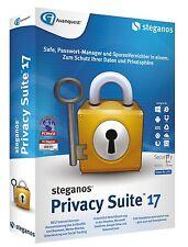 Steganos Privacy Suite 17 CD/DVD für 5 PC EAN 4023126117939 inkl. Innenarchitekt