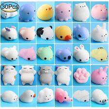 Mini Squishy Toys Mochi Animals Stress Relief Kawaii Squishies 30 Pieces New