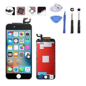 LCD Lens Touch Screen Digitizer+Frame Replacement Kit For iPhone 6s Plus Black