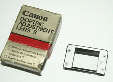 Genuine Vintage Canon S +3 Diopter (Dioptric Lens), w/Original Box