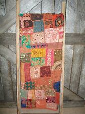 """Beautiful 71""""x53"""" JewelTone Bling Patch Quilt~Blanket/Throw/Wrap/Bdsprd/Heirloom"""