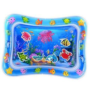 Tummy Time Baby Water Mat Infant Toys for 3 6 9 Months Boys Girls