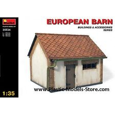Miniart 35534 European Barn Building 1/35 Scale