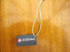 vintage  ZODIAC watch tag,,,,,,rare,,has bar code,