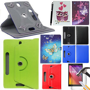 """For Lenovo Tab 3 10 10.1"""" TB-X103F Universal Leather Case Cover Screen Protector"""