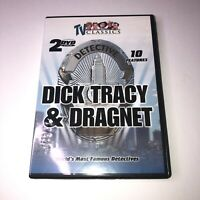 Dick Tracy Dragnet Worlds Most Famous Detectives, Vol. 2  3: (DVD, 2005, 2-Disc)