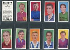 BARRATT - FAMOUS FOOTBALLERS A.11, A.15 - PICK YOUR CARD