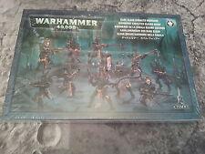 Warhammer 40K Dark Eldar KABALITE Warriors 28 mm miniatures New & Sealed