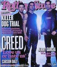 Creed 2002 Rolling Stone Magazine Cover Original Promo Poster