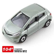 JAPAN TAKARA TOMICA 104 TOYOTA VITZ DIECAST CAR MODEL (PALE GREEN) 392507
