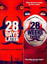 28 DAYS LATER & 28 WEEKS Bio Terror Double Feature NEW DVD