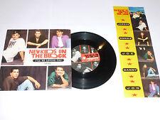 """NEW KIDS ON THE BLOCK - I'll Be Loving You Forever - 1990 UK 7"""" Vinyl SIngle"""