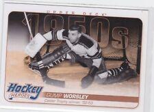 11/12 UD...GUMP WORSLEY...1950'S HOCKEY HEROES...CARD # HH2...RANGERS