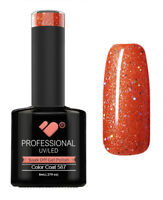 587 VB™ Line Sparks Fly Silver Glitter - UV/LED soak off gel nail polish