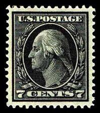 Us.#407 Wash & Frnkln Slw Issue 1912 - 1914 - Oglh - Vf/Xf $115.00 (Esp#0340)