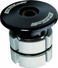 "Compression Plugs - FSA Compressor 1-1/8"" Black Expander Plug and Top Cap -"