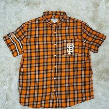 More details for authentic men's genuine merchandise by klew san fracisco giants dress shirt xl