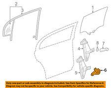 GM OEM Rear Door-Window Motor 22725057