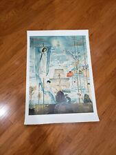 Salvador Dali Discovery of America by Columbus Hand Signed Lithograph