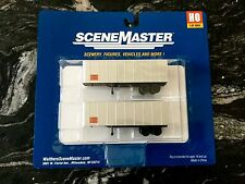 WALTHERS 1/87 HO SCALE  ROADWAY 32' TRAILERS 2-PACK ITEM # 949-2364 F/S