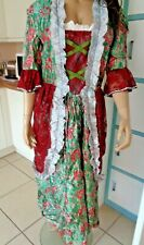 UNISEX DAME WENCH COSPLAY PROP DRAMA CD TV SISSY PERIOD MAXI DRESS STEAMPUNK