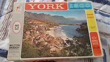 Vintage York Milton Bradley Jigsaw puzzle #6 Cape Province, South Africa 1963