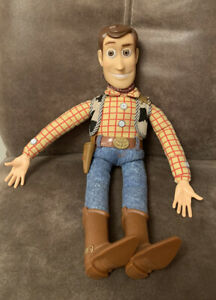 DISNEY TOY STORY PULL STRING TALKING WOODY SPARES OR REPAIR