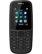 Nokia 105-Negro 2019 Sim ÚNICO PARA MÓVIL (Desbloqueado)