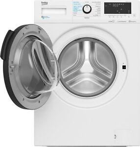 Beko WDW85141Steam1 Stand-Waschtrockner weiß