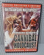 Cannibal Holocaust Letterbox Special Collector's Edition Italian 2000 All Region