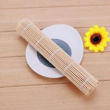 Japanese Sushi Rice Rolling Roller Bamboo DIY Maker Sushi Mat Cooking Tool PRO#