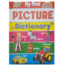 QUALITY MY FIRST PICTURE DICTIONARY CHILDREN'S HARDBACK BOOK educational - words