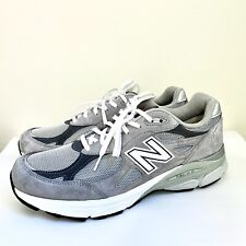 New Balance 990v3 Grey M990GL3 Mens Size 10.5 D USA Heritage Made in USA