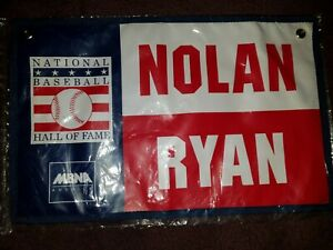 1999 Nolan Ryan National Baseball Hall of Fame Banner