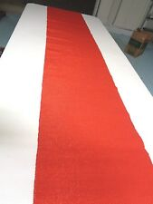Very long table runner Red with some sparkle