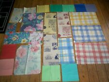 21 pieces cotton material for craft patchwork etc New sizes 8x8 to 14x17 ins